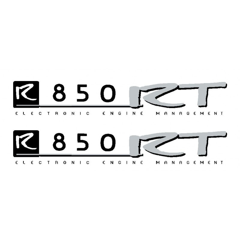 2 stickers pour BMW R850RT