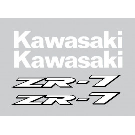 Stickers kit for Kawasaki ZR7