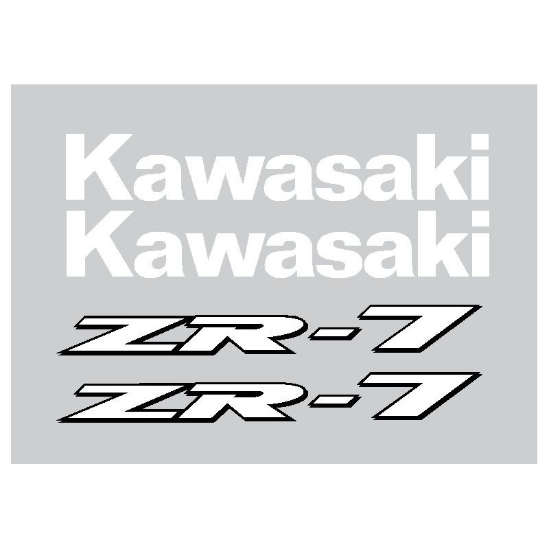 Stickers Kawasaki ZR7