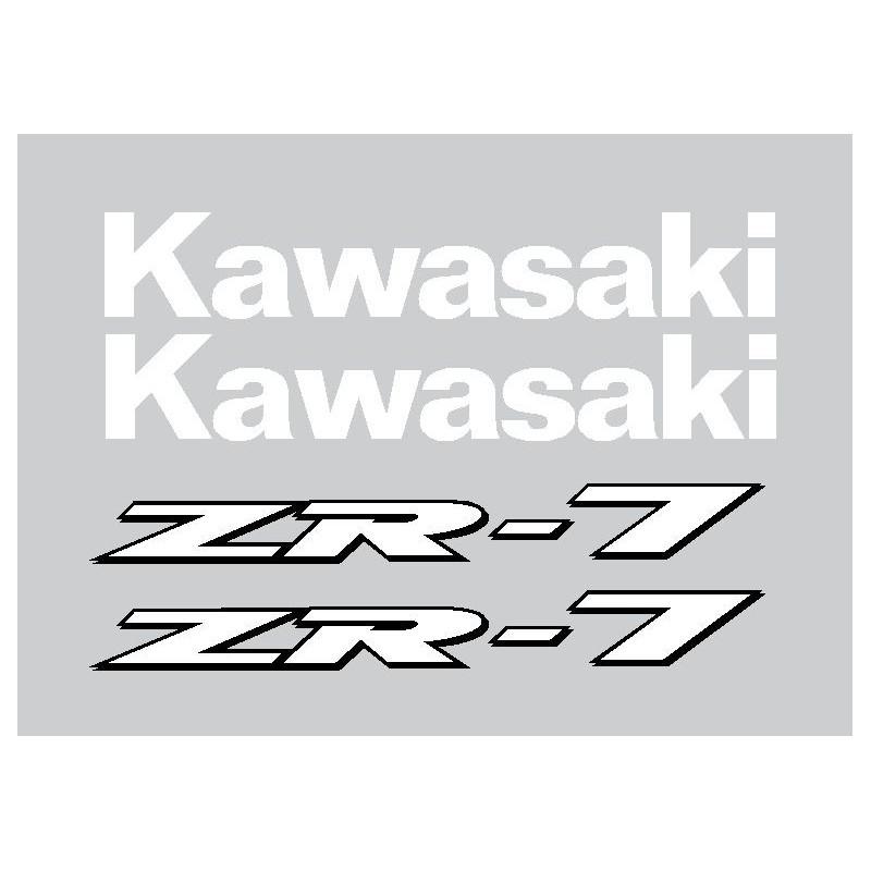 Stickers Kawasaki ZR7
