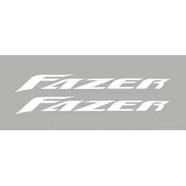 2 stickers for Yamaha Fazer 2005 to 2008