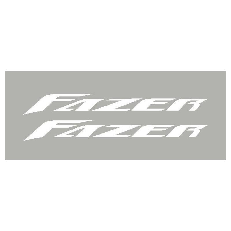 2 sticker Yamaha Fazer 2005 à 2008