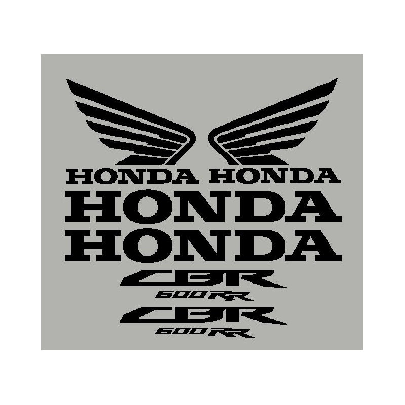 stickers HONDA CBR 600 RR