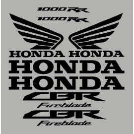Aufkleber für HONDA CBR 1000RR 2010