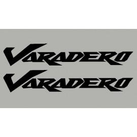 2 pegatinas para HONDA Varadero 2010