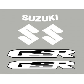 lot de 2 stickers SUZUKI GSR