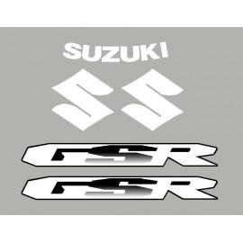 kit aufkleber SUZUKI GSR 06-11