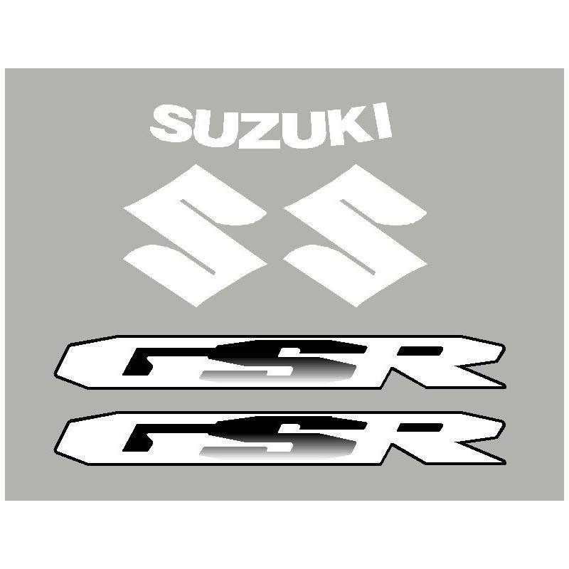 2 aufkleber SUZUKI GSR