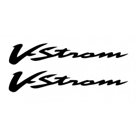 Lot de 2 stickers SUZUKI V storm