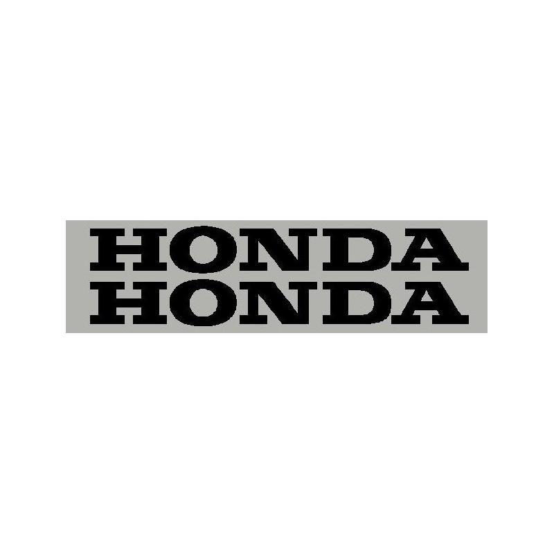 Paire d'aile autocollante Honda