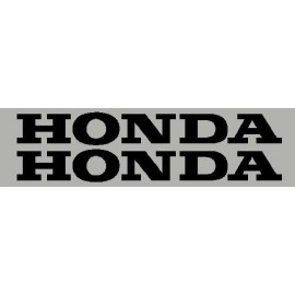 2 pegatinas HONDA 32 cm