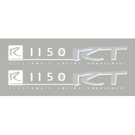 2 stickers pour BMW R1150RT