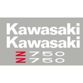 Kit adesivos KAWASAKI Z750 e Z1000