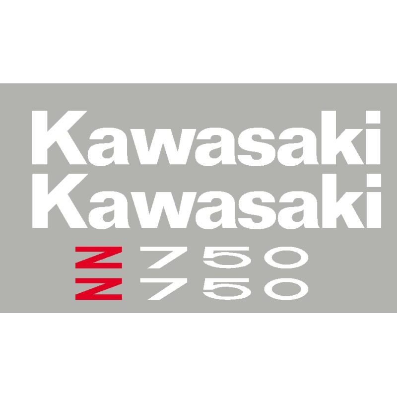 Aufkleber KAWASAKI Z750 oder Z1000