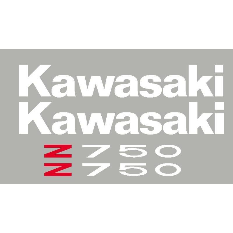 stickers kit for KAWASAKI Z750 or Z1000