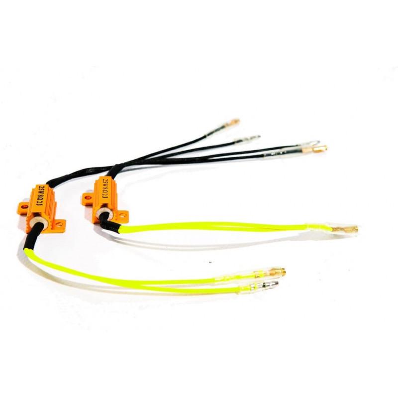 2 resistances pour clignotant a LED 6,8