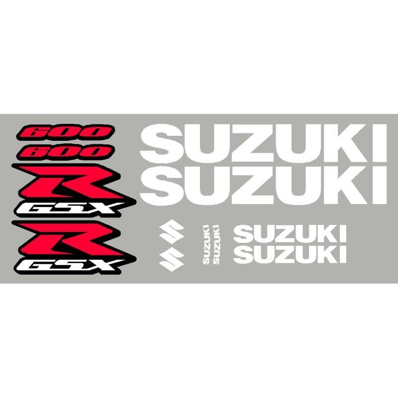 Aufkleber kit SUZUKI GSXR de 2001 à 2005