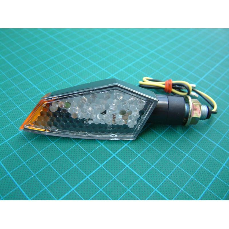 2 clignotants LED polygone