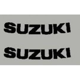 2 aufkleber Suzuki dim 75x14 mm