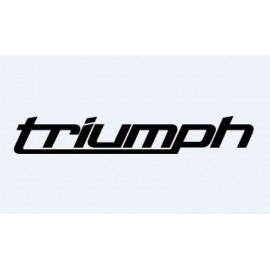 2 stickers for TRIUMPH 2010...