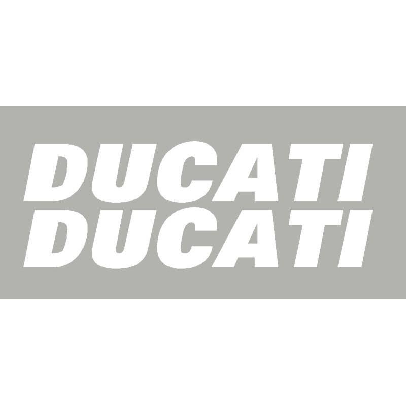 2 Stickers autocollants Ducati