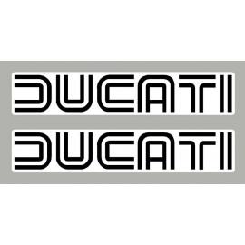 2 adesivi Ducati