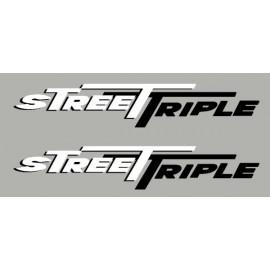 2 aufkleber Street Triple 2 farben