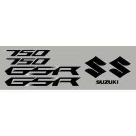 kit pegatinas para SUZUKI GSR 12-13