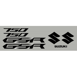 Kit stickers SUZUKI GSR 12-13