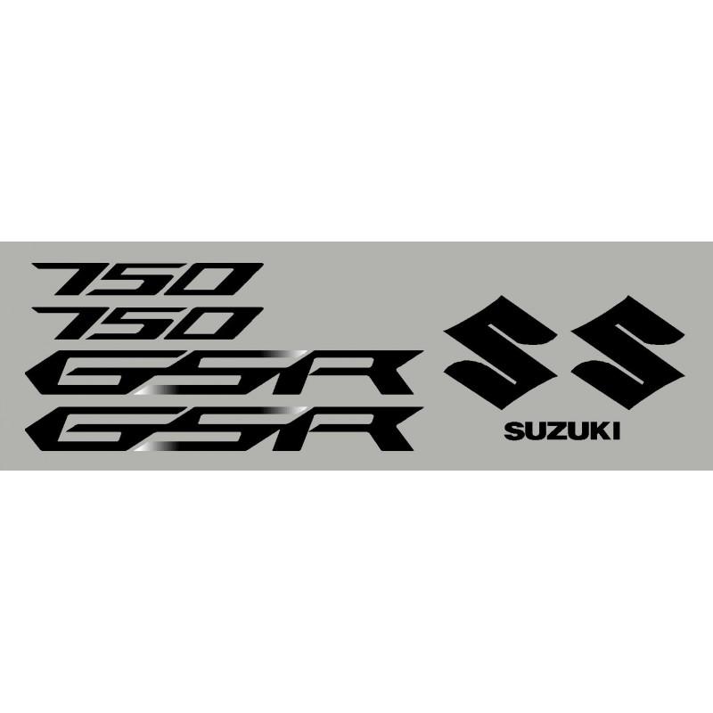 kit 2 stickers SUZUKI GSR 12-13