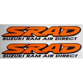 2 adesivi SRAD