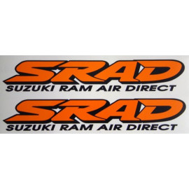2 stickers SRAD for Suzuki