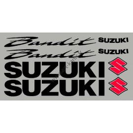 """Adesivos suzuki Bandit com """"S"""" 3 cores"""