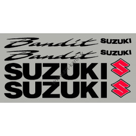 """Sticker kit for suzuki Bandit with 3 color """"S"""""""