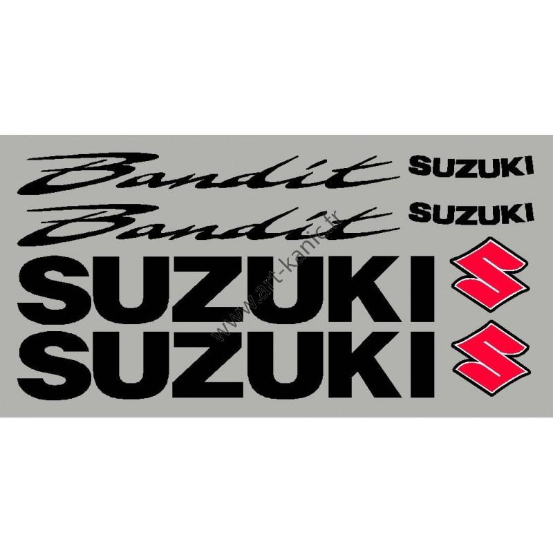"""Kit pour suzuki Bandit avec """"S"""" 3 couleur"""