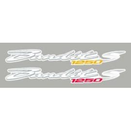 2 aufkleber für SUZUKI Bandit 1250