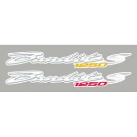 Lot de 2 stickers pour Bandit 1250