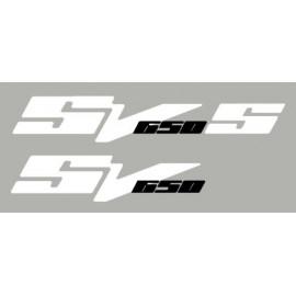 2 pegatinas para SUZUKI SV650 N ou S