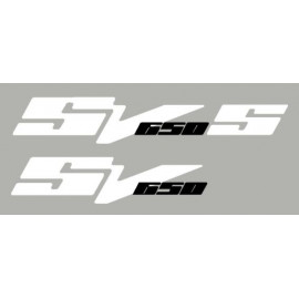 2 stickers for SUZUKI SV650 N or S