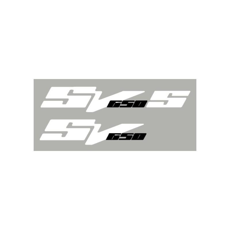 Lot de 2 sticker SV650 N ou S