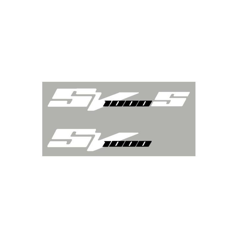 Lot de 2 sticker SV1000 N ou S