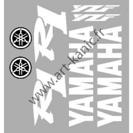 Kit stickers pour YAMAHA R6 ou R1