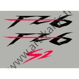 Stickers pour YAMAHA FZ6 ou FZ1